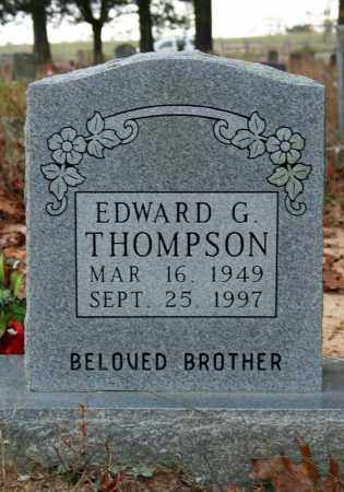 THOMPSON, EDWARD G. - Searcy County, Arkansas | EDWARD G. THOMPSON - Arkansas Gravestone Photos
