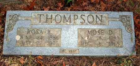 THOMPSON, MOSE D. - Searcy County, Arkansas | MOSE D. THOMPSON - Arkansas Gravestone Photos