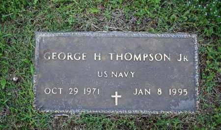 THOMPSON, JR (VETERAN), GEORGE H - Searcy County, Arkansas | GEORGE H THOMPSON, JR (VETERAN) - Arkansas Gravestone Photos
