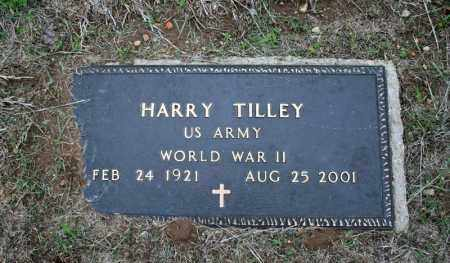 TILLEY (VETERAN WWII), HARRY - Searcy County, Arkansas | HARRY TILLEY (VETERAN WWII) - Arkansas Gravestone Photos