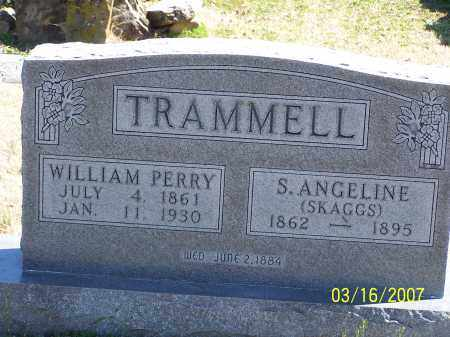 TRAMMELL, S. ANGELINE - Searcy County, Arkansas | S. ANGELINE TRAMMELL - Arkansas Gravestone Photos
