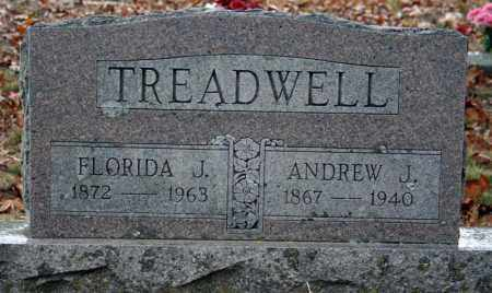 TREADWELL, ANDREW J. - Searcy County, Arkansas | ANDREW J. TREADWELL - Arkansas Gravestone Photos