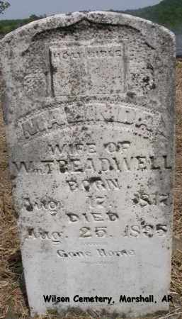 TREADWELL, MALINDA - Searcy County, Arkansas | MALINDA TREADWELL - Arkansas Gravestone Photos