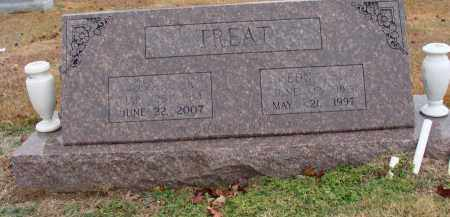 MASSEY TREAT, EDNA - Searcy County, Arkansas | EDNA MASSEY TREAT - Arkansas Gravestone Photos