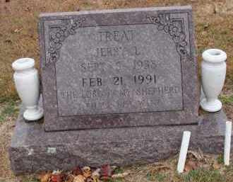 TREAT, JERRY LEE - Searcy County, Arkansas | JERRY LEE TREAT - Arkansas Gravestone Photos