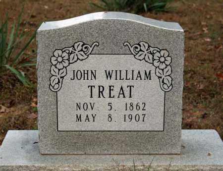 TREAT, JOHN WILLIAM - Searcy County, Arkansas | JOHN WILLIAM TREAT - Arkansas Gravestone Photos