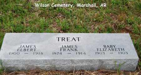 TREAT, JAMES FRANK - Searcy County, Arkansas | JAMES FRANK TREAT - Arkansas Gravestone Photos