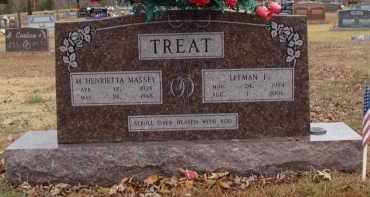 MASSEY TREAT, HENRIETTA - Searcy County, Arkansas | HENRIETTA MASSEY TREAT - Arkansas Gravestone Photos