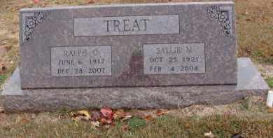 TREAT, SALLIE - Searcy County, Arkansas | SALLIE TREAT - Arkansas Gravestone Photos