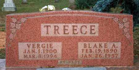 TREECE, VERGIE - Searcy County, Arkansas | VERGIE TREECE - Arkansas Gravestone Photos
