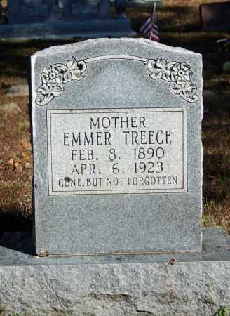 TREECE, EMMER - Searcy County, Arkansas | EMMER TREECE - Arkansas Gravestone Photos