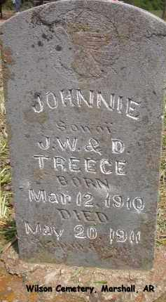 TREECE, JOHNNIE - Searcy County, Arkansas | JOHNNIE TREECE - Arkansas Gravestone Photos