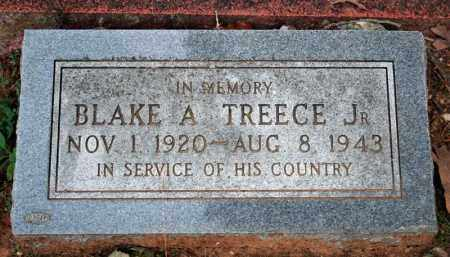 TREECE (VETERAN WWII, KIA), BLAKE A - Searcy County, Arkansas | BLAKE A TREECE (VETERAN WWII, KIA) - Arkansas Gravestone Photos