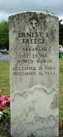 TREECE (VETERAN WWII), ERNEST L - Searcy County, Arkansas | ERNEST L TREECE (VETERAN WWII) - Arkansas Gravestone Photos
