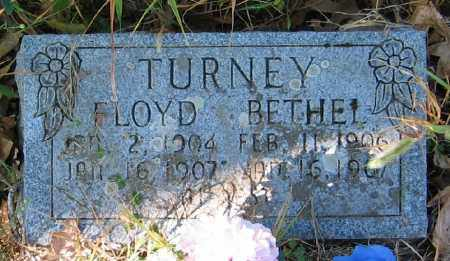 TURNEY, FLOYD - Searcy County, Arkansas | FLOYD TURNEY - Arkansas Gravestone Photos