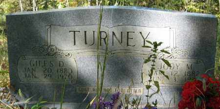 TURNEY, GILES D. - Searcy County, Arkansas | GILES D. TURNEY - Arkansas Gravestone Photos
