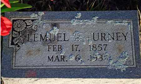 TURNEY, LEMUEL SMITH - Searcy County, Arkansas | LEMUEL SMITH TURNEY - Arkansas Gravestone Photos