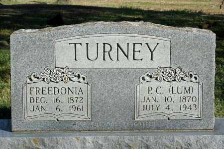 TURNEY, P.C. (LUM) - Searcy County, Arkansas | P.C. (LUM) TURNEY - Arkansas Gravestone Photos