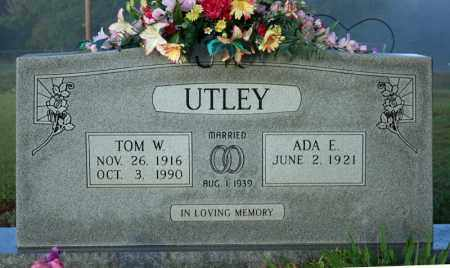 UTLEY, ADA E. - Searcy County, Arkansas | ADA E. UTLEY - Arkansas Gravestone Photos