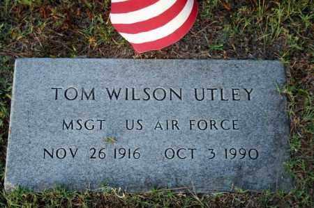 UTLEY (VETERAN), TOM WILSON - Searcy County, Arkansas | TOM WILSON UTLEY (VETERAN) - Arkansas Gravestone Photos