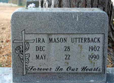 MASON UTTERBACK, IRA - Searcy County, Arkansas | IRA MASON UTTERBACK - Arkansas Gravestone Photos