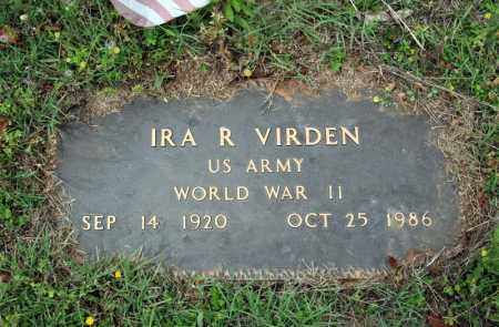 VIRDEN (VETERAN WWII), IRA R - Searcy County, Arkansas | IRA R VIRDEN (VETERAN WWII) - Arkansas Gravestone Photos