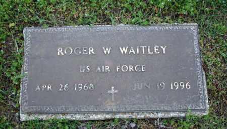 WAITLEY (VETERAN), ROGER W - Searcy County, Arkansas | ROGER W WAITLEY (VETERAN) - Arkansas Gravestone Photos