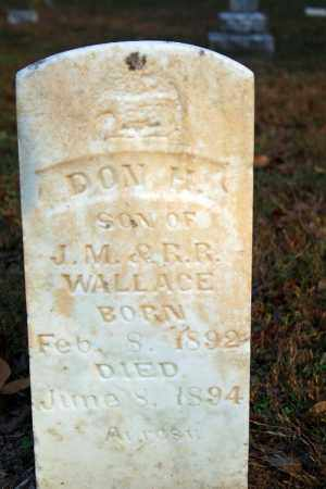WALLACE, DON H. - Searcy County, Arkansas | DON H. WALLACE - Arkansas Gravestone Photos