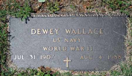 WALLACE (VETERAN WWII), DEWEY - Searcy County, Arkansas | DEWEY WALLACE (VETERAN WWII) - Arkansas Gravestone Photos
