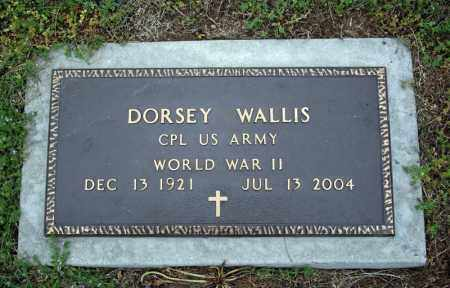 WALLIS (VETERAN WWII), DORSEY - Searcy County, Arkansas | DORSEY WALLIS (VETERAN WWII) - Arkansas Gravestone Photos