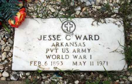 WARD (VETERAN WWI), JESSE C - Searcy County, Arkansas | JESSE C WARD (VETERAN WWI) - Arkansas Gravestone Photos