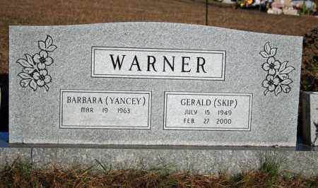 YANCEY WARNER, BARBARA - Searcy County, Arkansas | BARBARA YANCEY WARNER - Arkansas Gravestone Photos