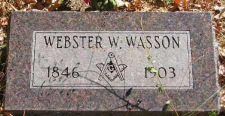 WASSON, WEBSTER WALKER - Searcy County, Arkansas | WEBSTER WALKER WASSON - Arkansas Gravestone Photos