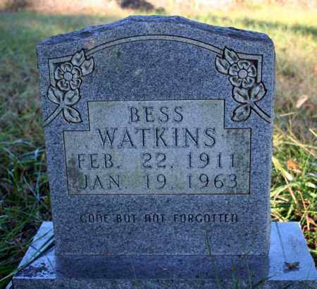 HICKMAN WATKINS, BESS - Searcy County, Arkansas | BESS HICKMAN WATKINS - Arkansas Gravestone Photos