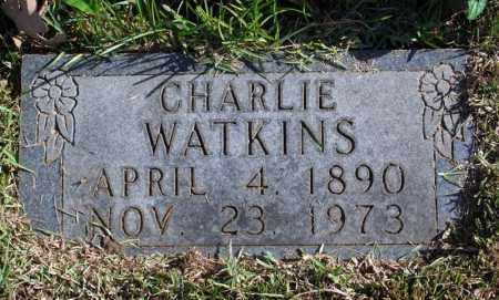 WATKINS, CHARLIE - Searcy County, Arkansas | CHARLIE WATKINS - Arkansas Gravestone Photos