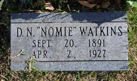"WATKINS, D. N . ""NOMIE"" - Searcy County, Arkansas 