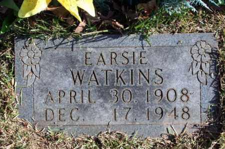 WATKINS, EARSIE - Searcy County, Arkansas | EARSIE WATKINS - Arkansas Gravestone Photos