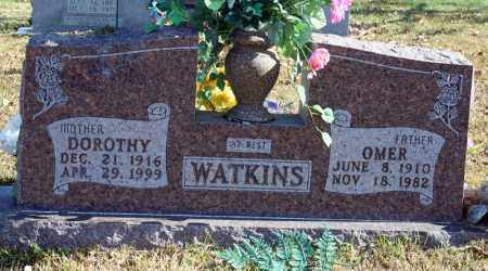 WATKINS, OMER - Searcy County, Arkansas | OMER WATKINS - Arkansas Gravestone Photos