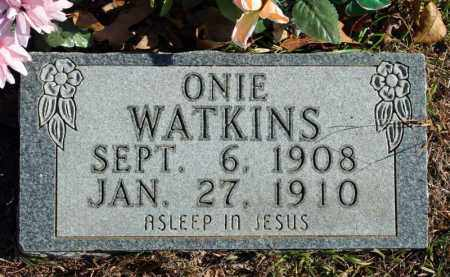 WATKINS, ONIE - Searcy County, Arkansas | ONIE WATKINS - Arkansas Gravestone Photos