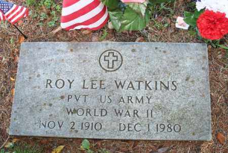 WATKINS  (VETERAN WWII), ROY LEE - Searcy County, Arkansas | ROY LEE WATKINS  (VETERAN WWII) - Arkansas Gravestone Photos