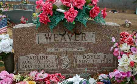 WEAVER, PAULINE - Searcy County, Arkansas | PAULINE WEAVER - Arkansas Gravestone Photos