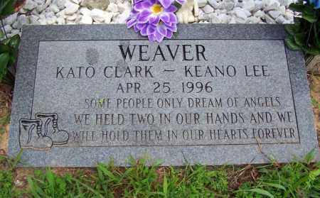 WEAVER, KATO CLARK - Searcy County, Arkansas | KATO CLARK WEAVER - Arkansas Gravestone Photos