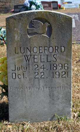 WELLS, LUNCEFORD - Searcy County, Arkansas | LUNCEFORD WELLS - Arkansas Gravestone Photos