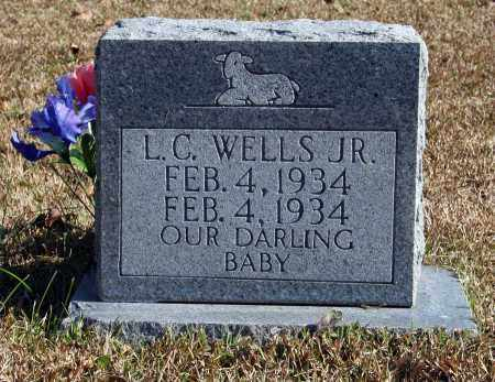 WELLS, L.C. JR. - Searcy County, Arkansas | L.C. JR. WELLS - Arkansas Gravestone Photos