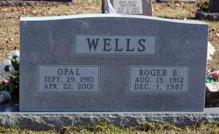 WELLS, OPAL - Searcy County, Arkansas | OPAL WELLS - Arkansas Gravestone Photos