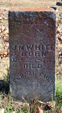 WHITE, J.M. - Searcy County, Arkansas | J.M. WHITE - Arkansas Gravestone Photos
