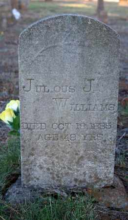 WILLIAMS, JULIOUS J. - Searcy County, Arkansas | JULIOUS J. WILLIAMS - Arkansas Gravestone Photos