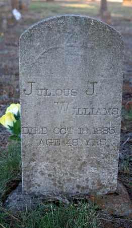 WILLIAMS, JULIOUS J. - Searcy County, Arkansas | JULIOUS J. WILLIAMS - Arkansas Gravestone Photos