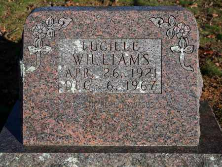 WILLIAMS, LUCILLE - Searcy County, Arkansas | LUCILLE WILLIAMS - Arkansas Gravestone Photos