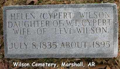 CYPERT WILSON, HELEN - Searcy County, Arkansas | HELEN CYPERT WILSON - Arkansas Gravestone Photos